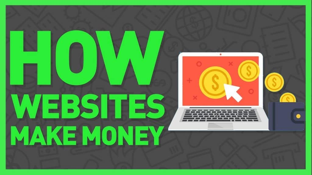different types of websites that make money