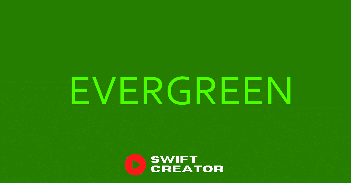 evergreen products